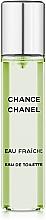 Chanel Chance Eau Fraiche - Set de racarga (eau de toilette/3x20ml) — imagen N3