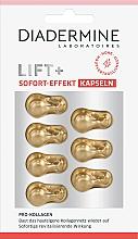 Perfumería y cosmética Cápsulas faciales reafirmantes con colágeno - Diadermine Lift+ Sofort Effect Capsules