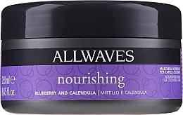 Perfumería y cosmética Mascarilla para cabello teñido con extracto de arándano y caléndula - Allwaves Blueberry And Calendula Nourishing Mask