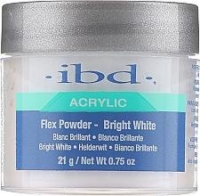 Perfumería y cosmética Polvo acrílico para uñas-blanco brillante - IBD Flex Powder Bright White