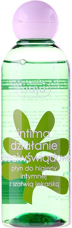Gel de higiene íntima con extracto de salvia, ácido láctico y provitamina B5 - Ziaja Intima Gel