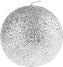 Perfumería y cosmética Vela decorativa, plateada, 10cm - Artman Glamour