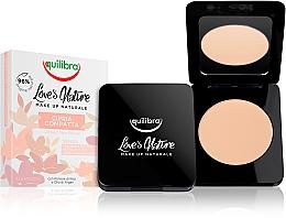 Perfumería y cosmética Polvos faciales compactos - Equilibra Love's Nature Compact Face Powder