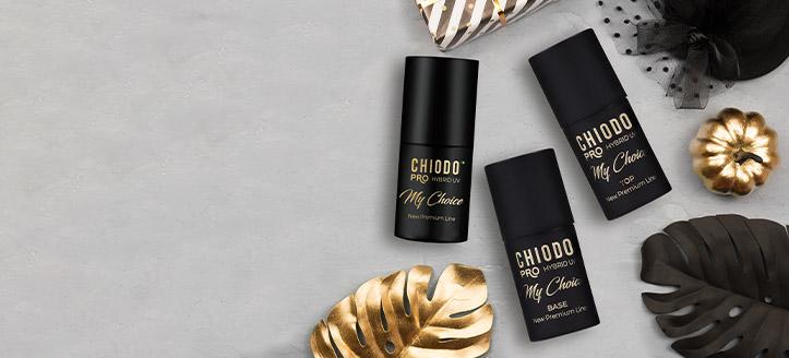 Por la compra de tres productos promocionales de Chiodo Pro, llévate el de menor importe de regalo