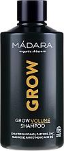 Perfumería y cosmética Champú voluminizador con cafeína & zinc - Madara Cosmetics Grow Volume Shampoo