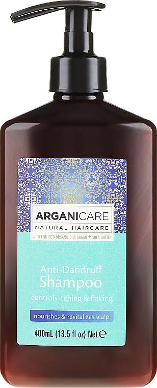 Champú anticaspa con manteca de karité y aceite de argán - Arganicare Shea Butter Anti-Dandruff Shampoo