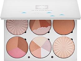 Perfumería y cosmética Paleta de contorno facial - Ofra Highlighting and Bronzing Pro Palette On the Glow