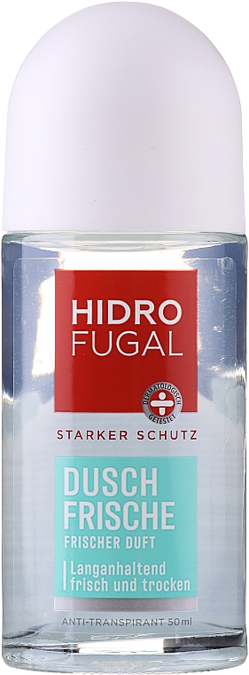 Desodorante antitranspirante roll on - Hidrofugal Shower Fresh Roll-on