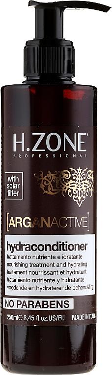 Acondicionador nutritivo con aceite de argán - H.Zone Argan Active Hydraconditioner — imagen N1