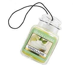 Perfumería y cosmética Ambientador de coche con aroma a lima y vainilla - Yankee Candle Vanilla Lime Car Jar Ultimate