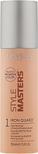 Perfumería y cosmética Bálsamo alisador protector para cabello con aceite de semilla de girasol - Revlon Style Masters Iron Guard 1 Protective Straightening Balm