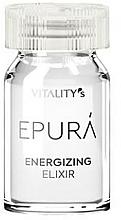 Perfumería y cosmética Elixir energizante para cabello en ampollas, 8x7ml - Vitality's Epura Energizing Elixir