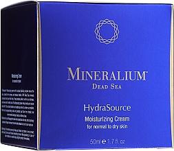 Perfumería y cosmética Crema facial hidratante con minerales del Mar Muerto - Mineralium Dead Sea HydraSource Moisturizing Cream For Normal To Dry Skin