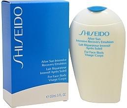 Emulsión aftersun para cuerpo y rostro con extracto de raíz de escutelaria - Shiseido Suncare After Sun Intensive Recovery Emulsion — imagen N3