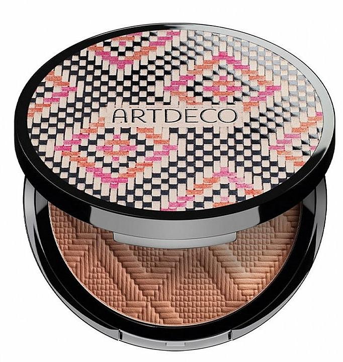 Polvo bronceador tricolor - Atrdeco All Seasons Bronzing Powder