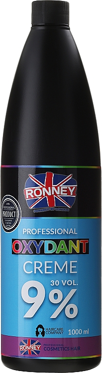 Crema oxidante profesional 30 vol. 9% - Ronney Professional Oxidant Creme 9%