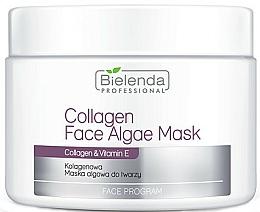 Perfumería y cosmética Mascarilla facial con colágeno y vitamina E - Bielenda Professional Collagen Face Algae Mask