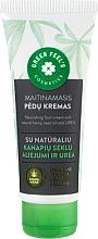 Perfumería y cosmética Crema de pies nutritiva con aceite natural de semilla de cáñamo y urea - Green Feel's Nourishing Food Cream