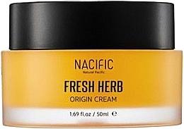 Perfumería y cosmética Crema facial con extracto de camomila y nenúfar - Nacific Fresh Herb Origin Cream