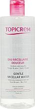 Perfumería y cosmética Agua micelar - Topicrem Gentle Micellar Water Face & Eyes