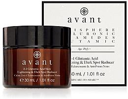 Perfumería y cosmética Concentrado facial con ácido glutámico y aceite de avellana - Avant 2-1 Glutamic Skin Lightening & Dark Spot Reducer