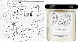 Perfumería y cosmética Vela aromática de soja ecológica y aceites esenciales de lima, pomelo, menta y coco - Hagi Soy Candle La Playa