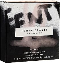 Perfumería y cosmética Iluminador híbrido en crema y polvo suaves de larga duración - Fenty Beauty Killawatt Freestyle Highlighter