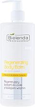 Perfumería y cosmética Bálsamo corporal con aceite de marula & complejo de vitaminas - Bielenda Professional Body Program Regenerating Body Balm