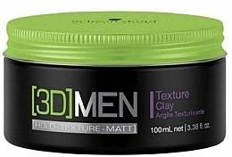 Perfumería y cosmética Arcilla texturizante para cabello - Schwarzkopf Professional 3D Mension Texture glay