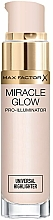 Perfumería y cosmética Iluminador facial con pigmentos reflejantes - Max Factor Miracle Glow Pro Illuminator Highlighter