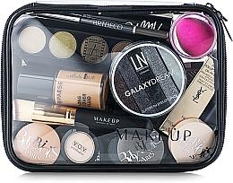 Perfumería y cosmética Neceser cosmético, transparente (20x15x6cm) - MakeUp Visible Bag (sin contenido)