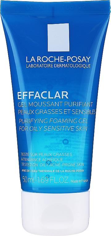 Gel de limpieza facial con agua termal y ácido cítrico - La Roche-Posay Effaclar Gel Moussant Purifiant