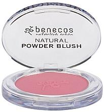 Perfumería y cosmética Colorete compacto natural con aceite de macadamia - Benecos Natural Compact Blush