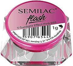 Perfumería y cosmética Polvo para uñas - Semilac Flash Sunlight Effect