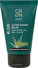 Perfumería y cosmética Bálsamo aftershave con aceite de semilla de cáñamo - GRN Gentlemen's Organic Hemp & Hop After-Shave Balm