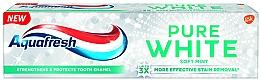 Perfumería y cosmética Pasta dental blanqueadora con fluoruro - Aquafresh Pure White Soft Mint