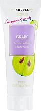 Perfumería y cosmética Exfoliante facial con aceite de uva - Korres Grape Scrub