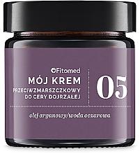 Perfumería y cosmética Crema facial antiedad con aceite de argán - Fitomed Anti-wrinkle Cream Nr5