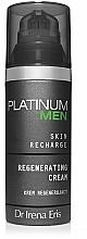 Perfumería y cosmética Crema facial regeneradora con ácido hialurónico y vitamina C - Dr Irena Eris Platinum Men Regenerating Cream