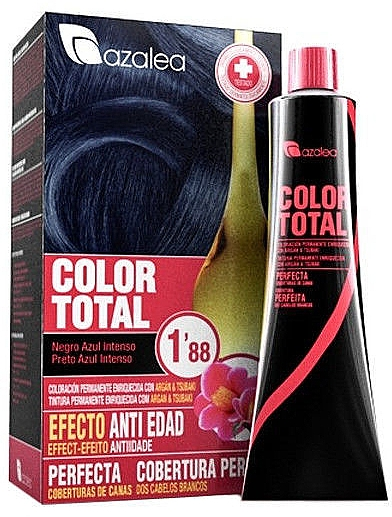 Tinte permanente de cabello con oxidante - Azalea Color Total Hair Color