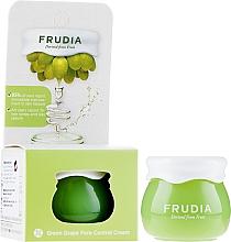 Perfumería y cosmética Crema equilibrante reguladora de sebo a base de 81% de extracto de uva - Frudia Pore Control Green Grape Cream (mini)