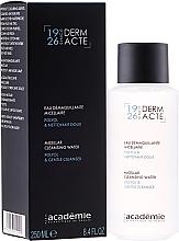 Perfumería y cosmética Agua micelar desmaquillante con glicéridos - Academie Derm Acte Micellar Water