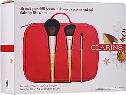 Perfumería y cosmética Set brochas de maquillaje - Clarins (brochas/3 uds. + neceser cosmético)