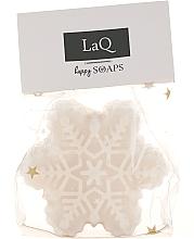 Perfumería y cosmética Jabón artesanal con karité, aroma a piña, copito de nieve - LaQ Happy Soaps