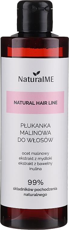 Enjuague para cabello graso con vinagre de frambuesa, extracto de palma sabática y algodón - NaturalME Natural Hair Line Balm