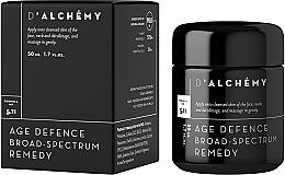 Perfumería y cosmética Crema antiedad para rostro, cuello y escote con aceite de argán - D'Alchemy Age Defense Broad Spectrum Remedy