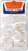 Perfumería y cosmética Tips de uñas, k/k - Silcare Tipsy Exellent French White
