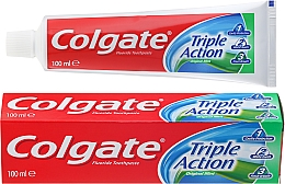 Perfumería y cosmética Pasta dental de triple acción - Colgate Triple Action Original Mint