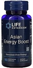 Perfumería y cosmética Complemento alimenticio energético en cápsulas - Life Extension Asian Energy Boost