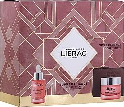 Perfumería y cosmética Set facial antiedad (sérum/30ml + crema/50ml + neceser) - Lierac Supra Radiance